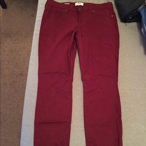 14286cf82d1 Red Sonoma Skinny Jeans